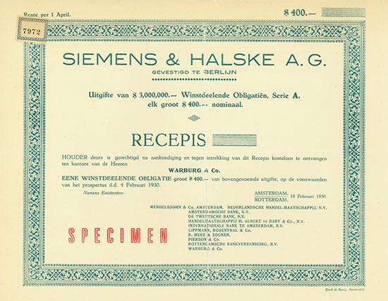 Siemens & Halske A. G.