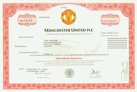 Manchester United [2 Stück]