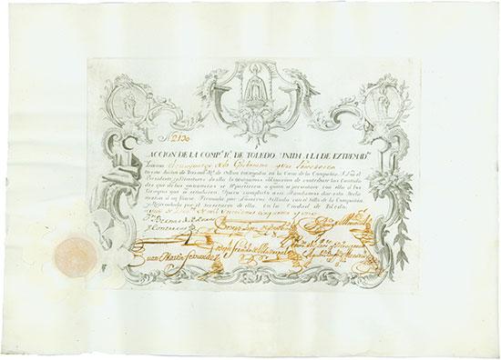 Companhia Real de Toledo unida a la de Extremadura