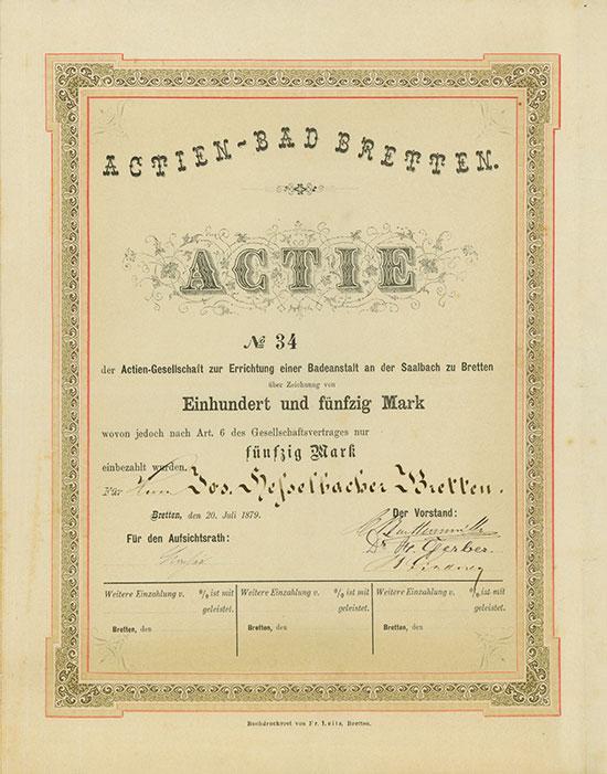 Actien-Bad Bretten