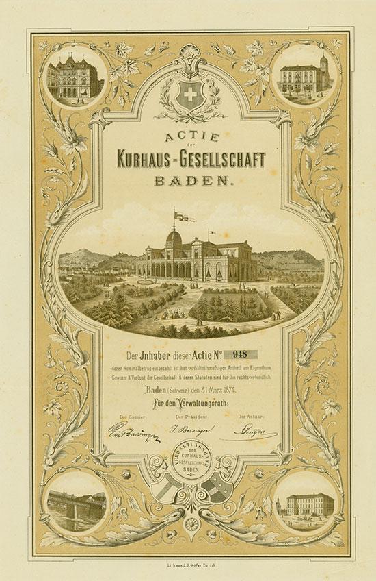 Kurhaus-Gesellschaft Baden