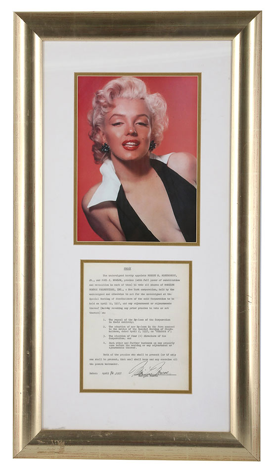 Marilyn Monroe Productions Inc.