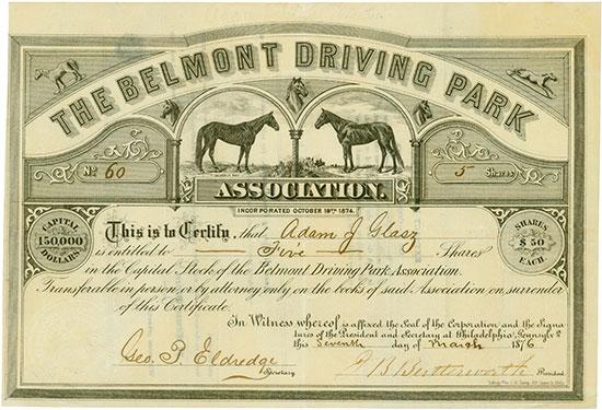 Belmont Driving Park Association