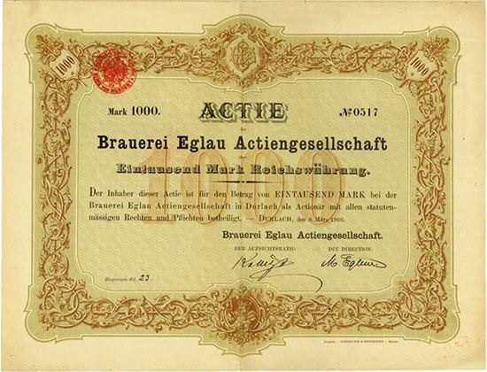 Brauerei Eglau AG