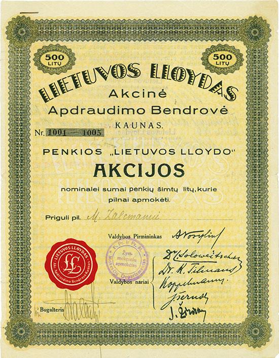 Lietuvos Lloydas Akciné Apdraudimo Bendrové