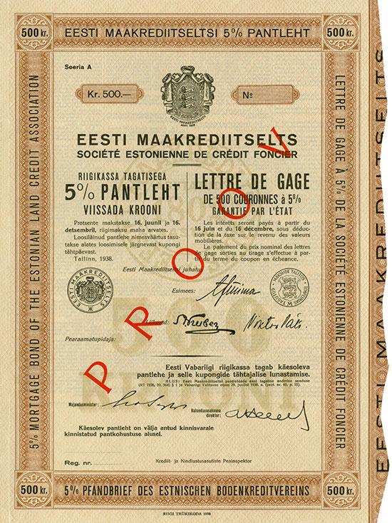 Estnischer Bodenkreditverein