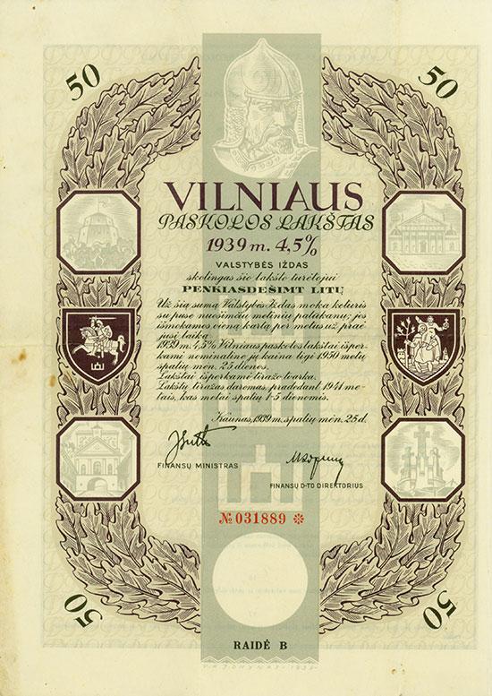 Vilniaus Paskolos Lakšto