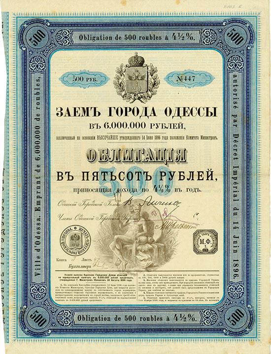 Ville d'Odessa [3 Stück]
