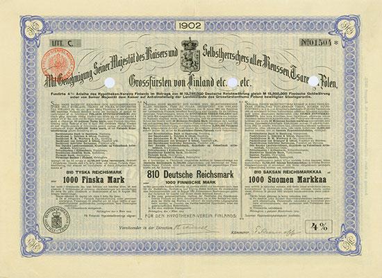 Finlands Hypotheken-Verein / Finlands Hypoteks-Förening / Suomen Hypoteekki-Yhdistys