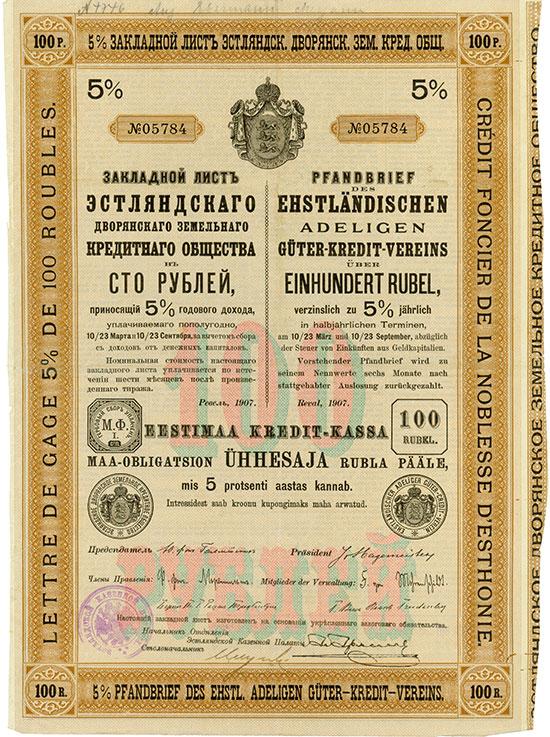 Ehstländischer Adeliger Güter-Kredit-Verein