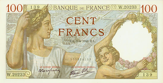 France: Banque de France: Pick 94