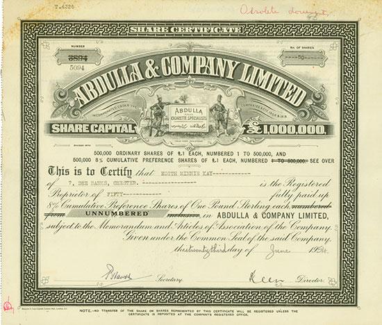 Abdulla & Company Limited
