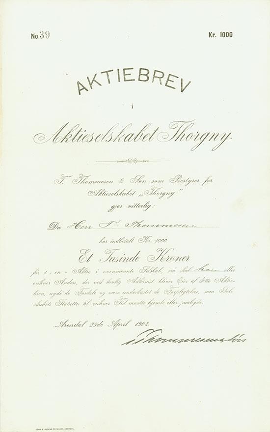 Aktieselskabet Thorgny