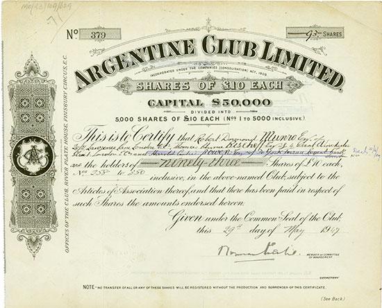 Argentine Club Limited