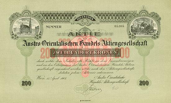 Austro-Orientalische Handels-AG