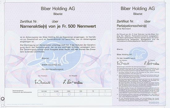 Biber Holding AG