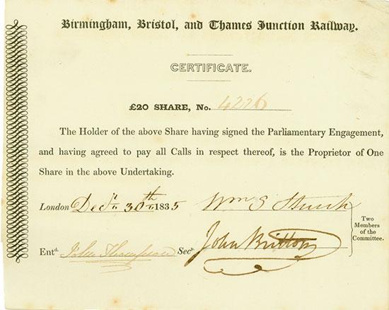 Birmingham, Bristol, and Thames Junction Railway