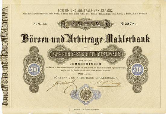 Börsen- und Arbitrage-Maklerbank