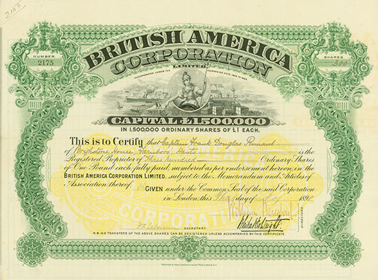 British America Corporation Limited