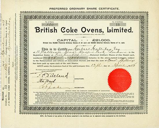 British Coke Ovens, Limited