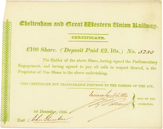 Cheltenham and Great Western Union Railway