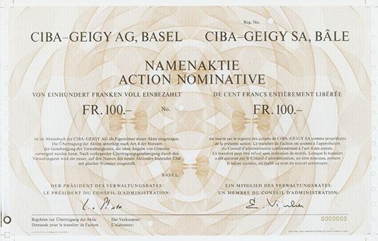 Ciba-Geigy AG