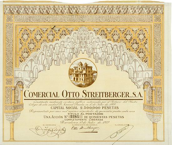 Comercial Otto Streitberger, S.A.