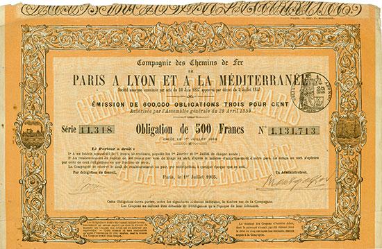 Compagnie des Chemins de fer de Paris a Lyon et a la Méditerranée