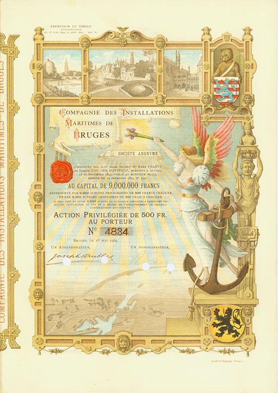 Compagnie des Installations Maritimes de Bruges Société Anonyme
