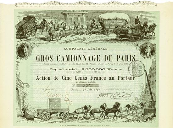 Compagnie Générale du Gros Camionnage de Paris