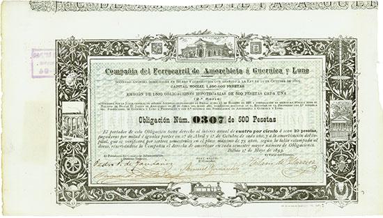 Compañia del Ferrocarril de Amorebieta á Guernica y Luno