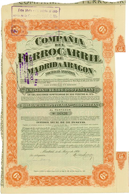 Compañía del Ferrocarril de Madrid a Aragon