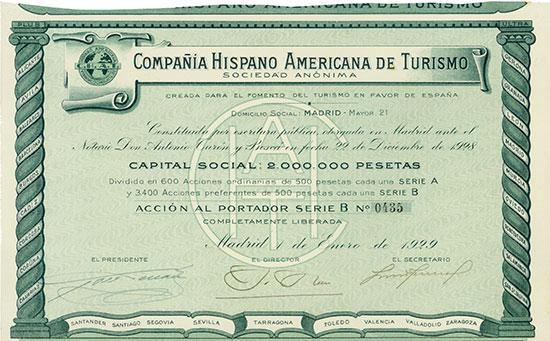 Compañia Hispano Americana de Turismo S. A.