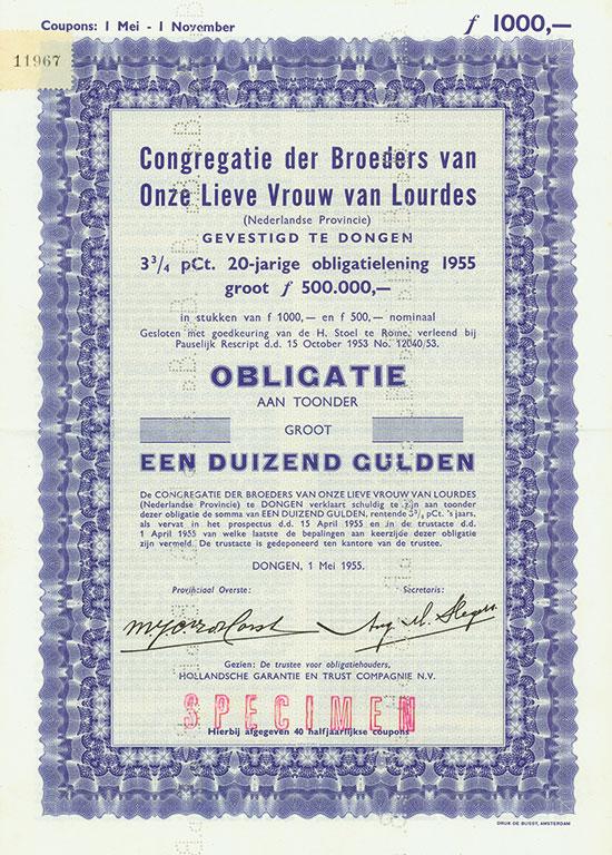 Congregatie der Broeders van Onze Lieve Vrouw van Lourdes (Nederlandse Provincie)