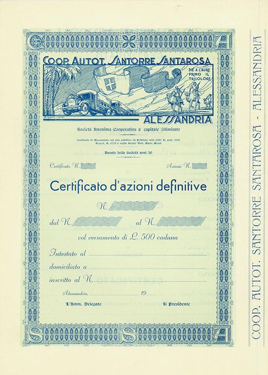 Coop. Autot. Santorre Santarosa