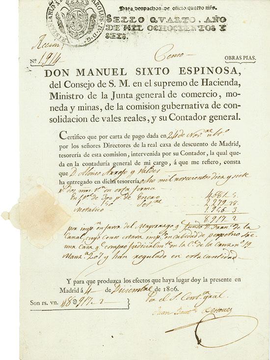 Don Manuel Sixto Espinosa
