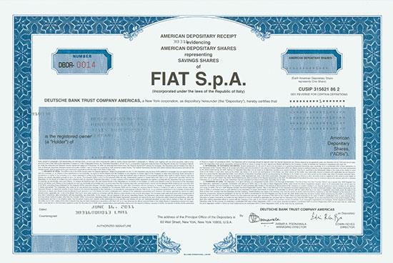 Fiat S.p.A.
