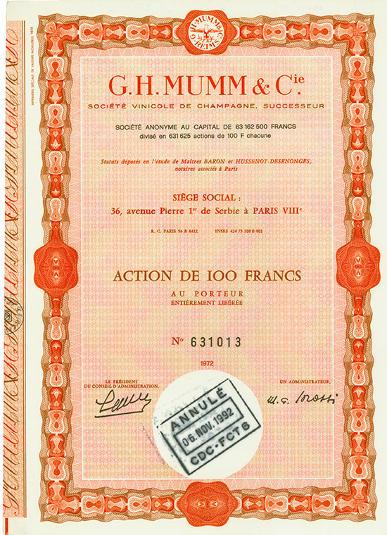 G. H. Mumm & Cie.