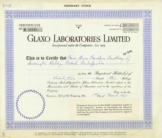 Glaxo Laboratories Limited