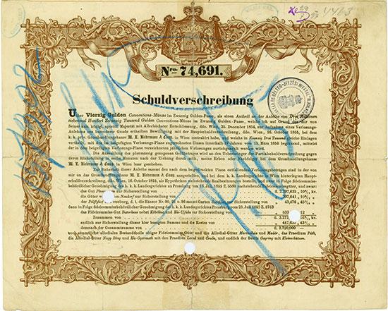 Hochfürstlich Anton Palffy'sche Anleihe