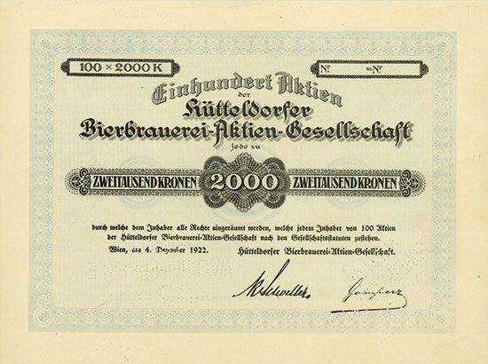Hütteldorfer Bierbrauerei-AG