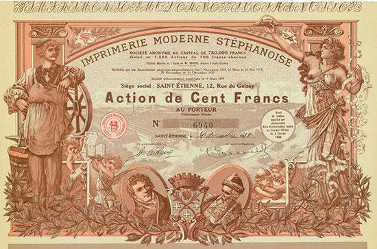 Imprimerie Moderne Stéphanoise Société Anonyme