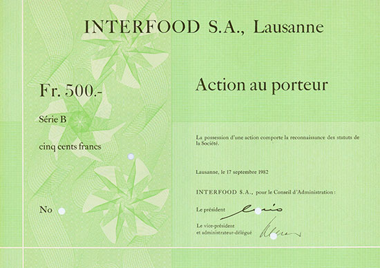 Interfood S. A.