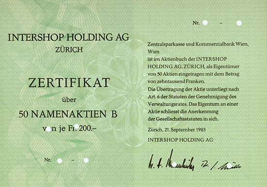 Intershop Holding AG