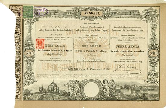 K. k. priv. Lemberg-Czernowitz-Jassy Eisenbahn-Gesellschaft