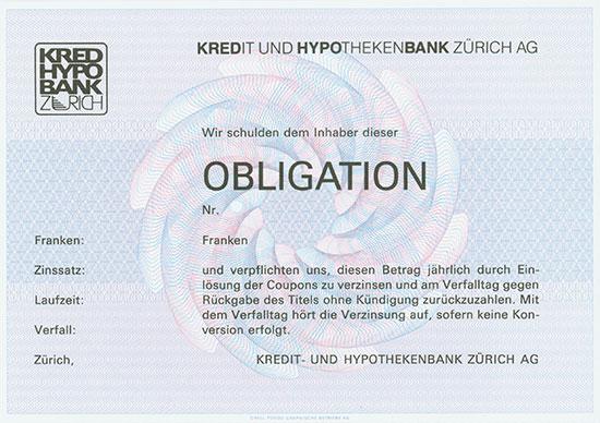 Kredit und Hypothekenbank Zürich AG