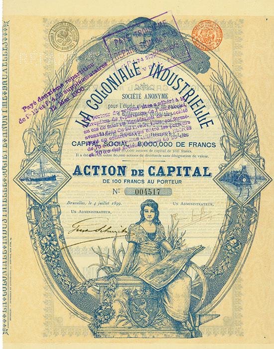 La Coloniale Industrielle Société Anonyme