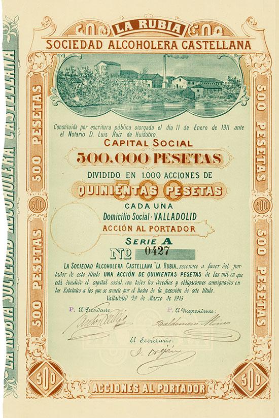 La Rubia Sociedad Alcoholera Castellana