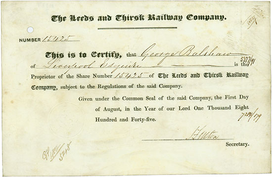 Leeds and Thirsk Railway Company