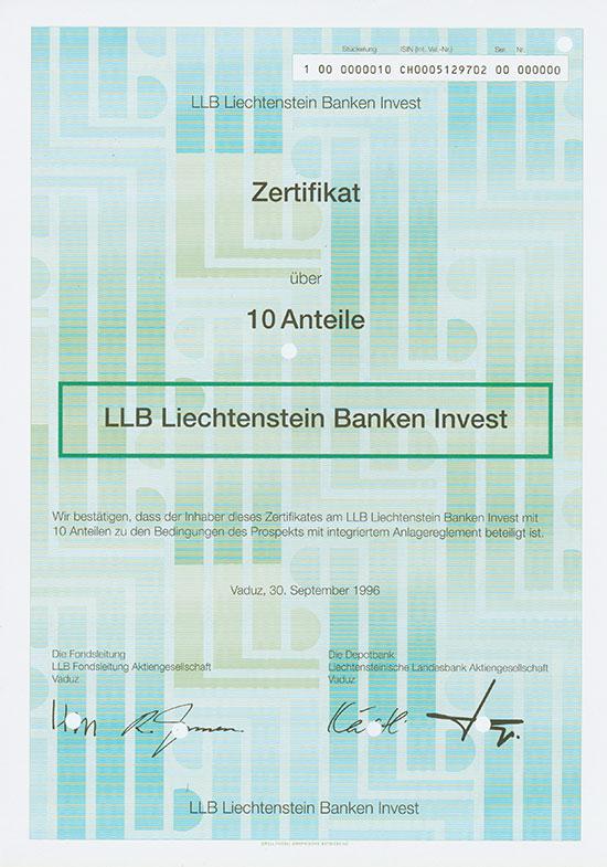 LLB Liechtenstein Banken Invest